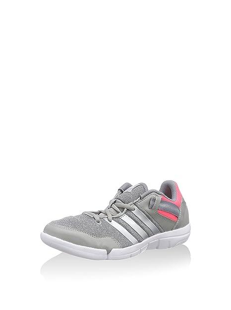 adidas Ilae, Zapatillas de cross training Mujer, Multicolor (Gris / Plata / Rosa), 39 1/3 EU: Amazon.es: Zapatos y complementos