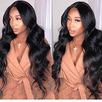 Lace Wigs Hair Extensions & Wigs Lace Front Human Hair Wigs For Women Black Pre Plucked Glueless Lace Front Wig With Baby Hair 13x4 Brazilian Wig Body Wave Remy