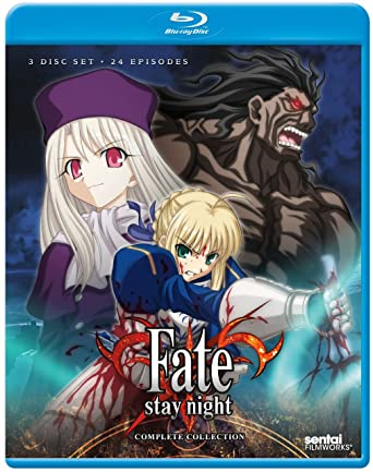 Fate Stay Night TV Complete Collection Blu Ray