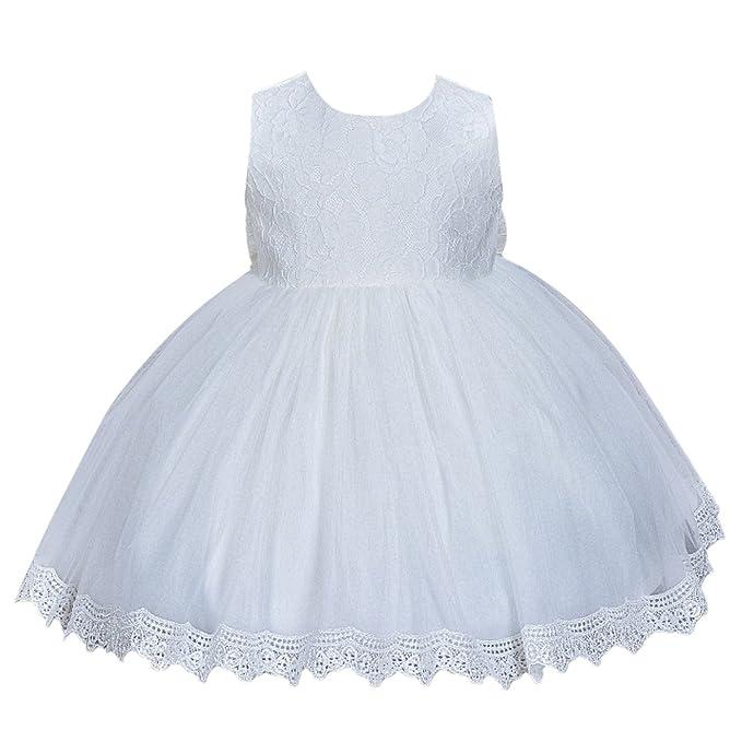 Happy Cherry - Bebés recien nacido Falda de Tutú Tul Vestido para Boda Fiesta Vestido Princesa