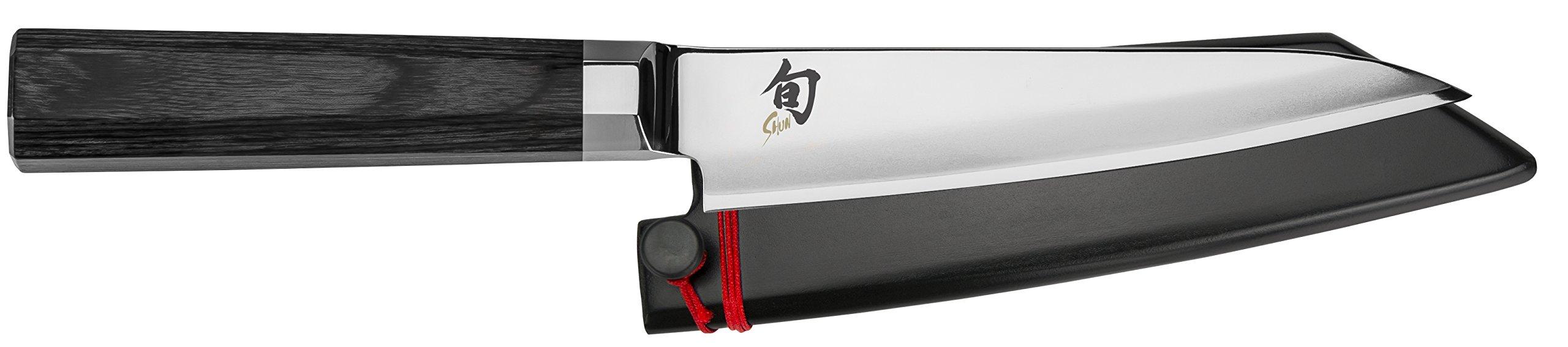 Shun VG0016 Petty Knife, 5.5'', Silver