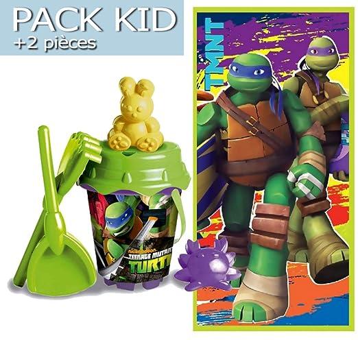 Tortugas Ninja - Toalla de playa Tortugas Ninja + juguetes ...