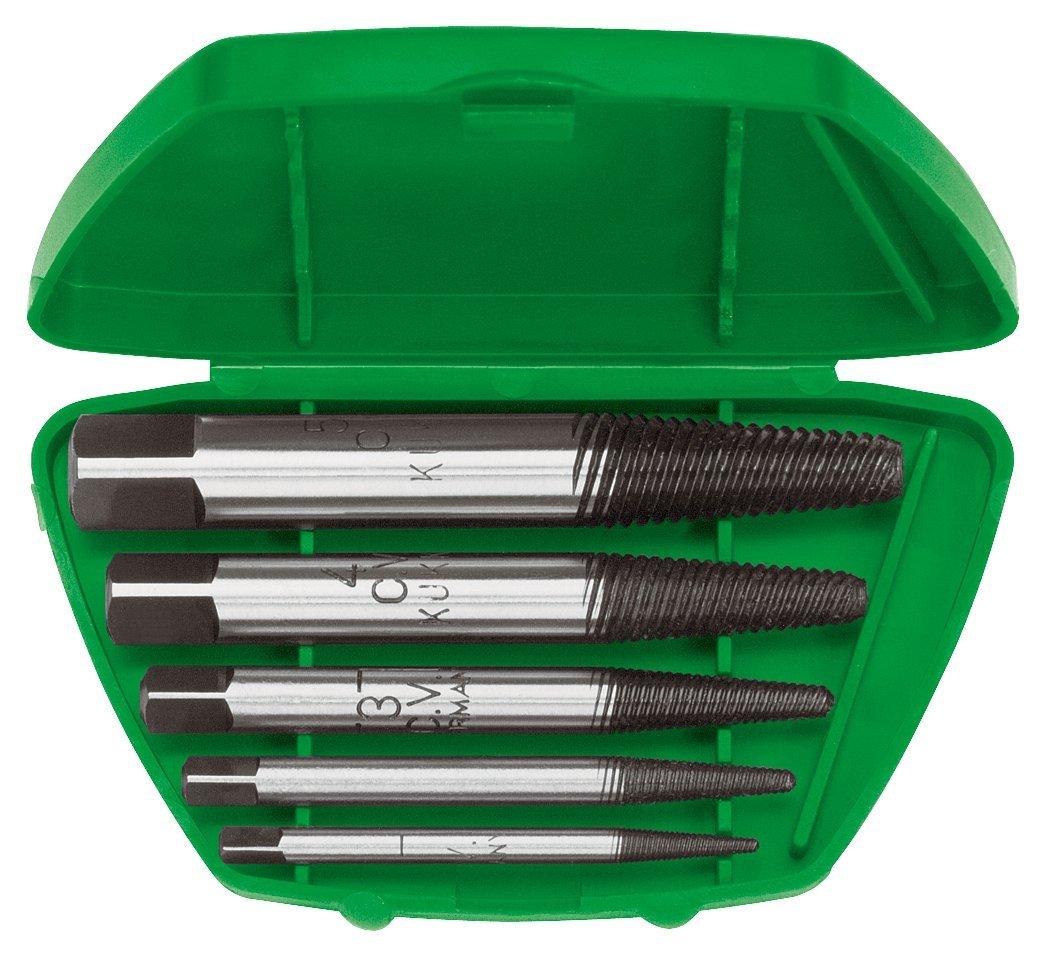 Kukko 49-C - Juego de 8 extractores de tornillos versió n alemana (estriado fino), tamañ o 1-8 tamaño 1-8