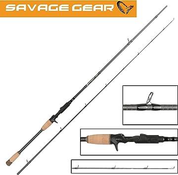 Savage Gear caña de spinning Browser CCS Cast 218 cm 15 – 45 G ...