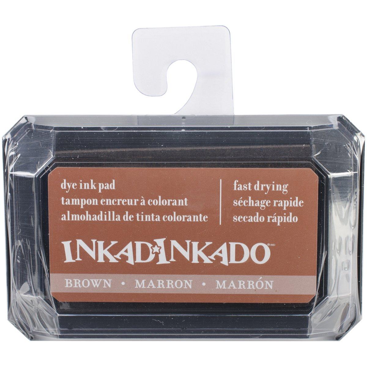 Unbekannt Inkadinkado Dye Tinte Pad, 3,75 3,75 3,75 von 2,5, Braun B00QY1K65S   Üppiges Design    Louis, ausführlich    Sonderangebot  f3d745