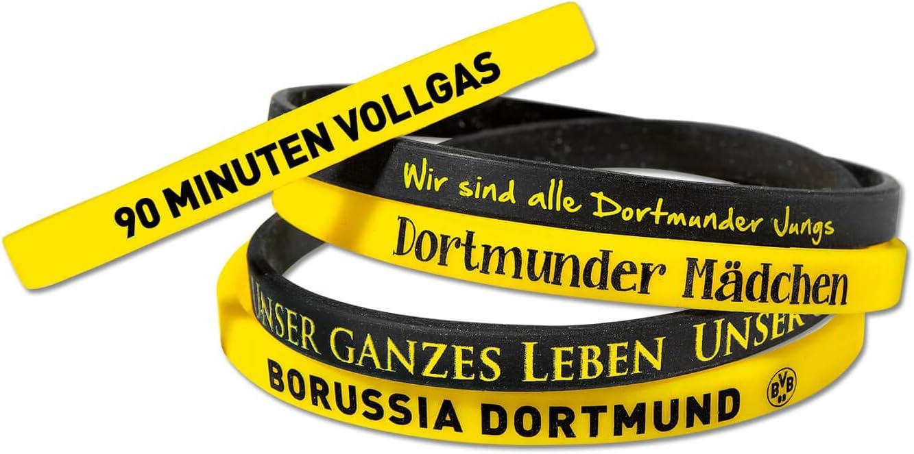 5/unidades BVB 09/Borussia Dortmund de silicona pulsera