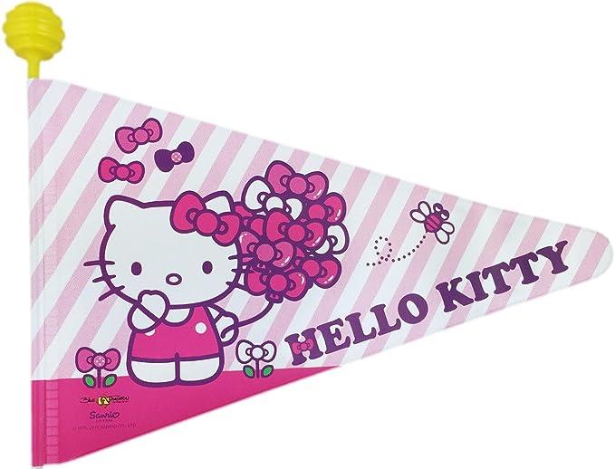 Bike Fashion - Banderín para bicicletas, diseño de Hello Kitty ...