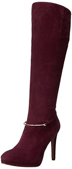 sale usa online modern style promo code Nine West Pearson Women US 5.5 Burgundy Knee High Boot ...