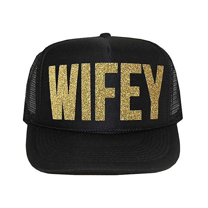 558a58fa Image Unavailable. Image not available for. Color: Classy Bride Wifey  Trucker Hat ...
