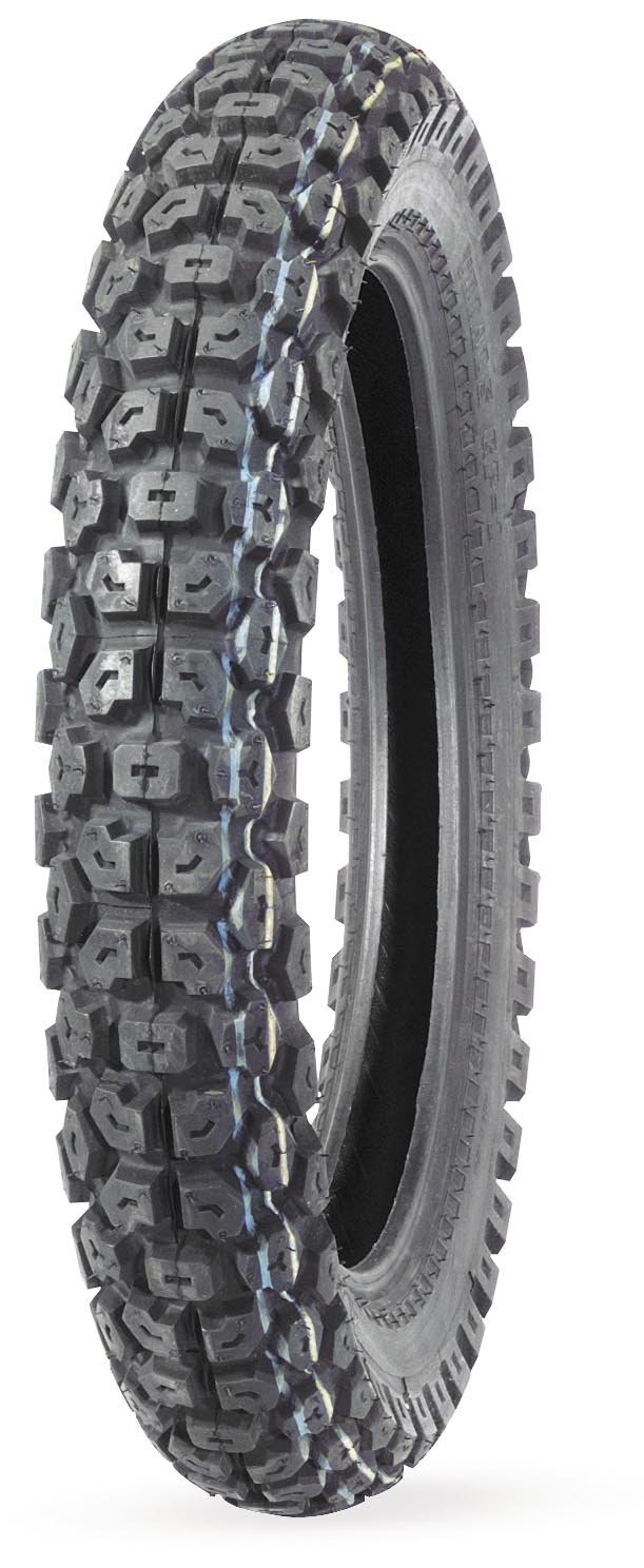 IRC GP1 Tire - Rear - 3.50-17 , Position: Rear, Tire Size: 3.50-17, Rim Size: 17, Tire Ply: 4, Load Rating: 43, Speed Rating: P, Tire Type: Dual Sport, Tire Application: All-Terrain 302025 IRC Tires tr-322178