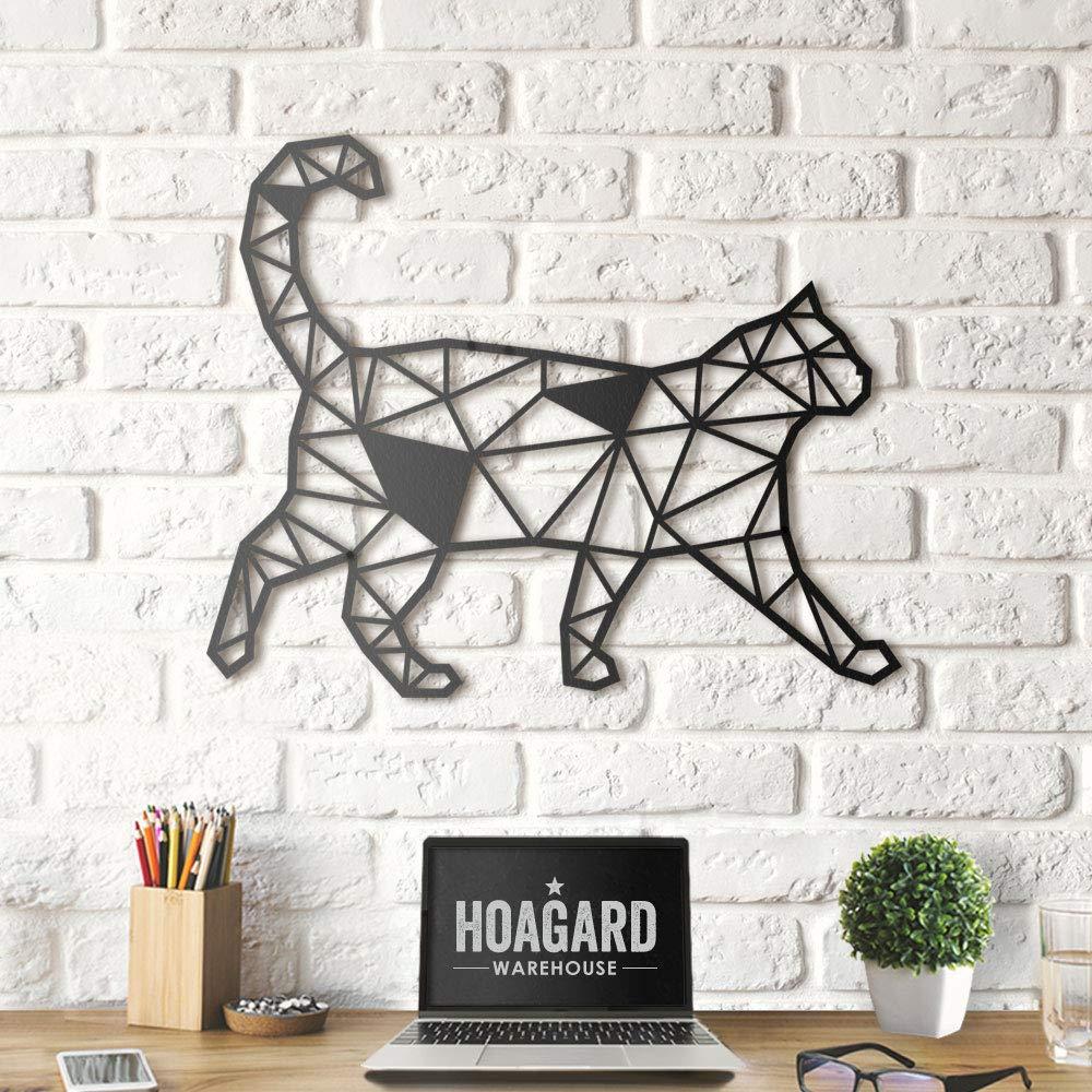 Hoagard D/écoration murale en m/étal laqu/é Noir 61 x 49 cm