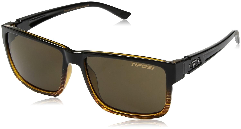 Tifosi Copenhague XL 1270507654Polarized Wayfarer Sunglasses, Distressed Bronze, 55mm