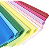 Rainbow Tissue Paper for Gift Wrapping, 10 Assorted Colors (19 x 26 In, 120 Sheets)