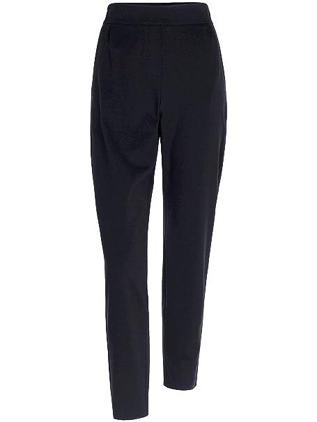 86d8f651e6990a Joop! Damen Hose Viskose Pant Unifarben, Größe: 40, Farbe: Blau ...