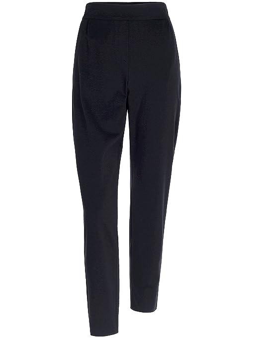 896ca1857c92a9 Joop! Damen Hose Viskose Pant Unifarben, Größe: 40, Farbe: Blau: Amazon.de:  Bekleidung