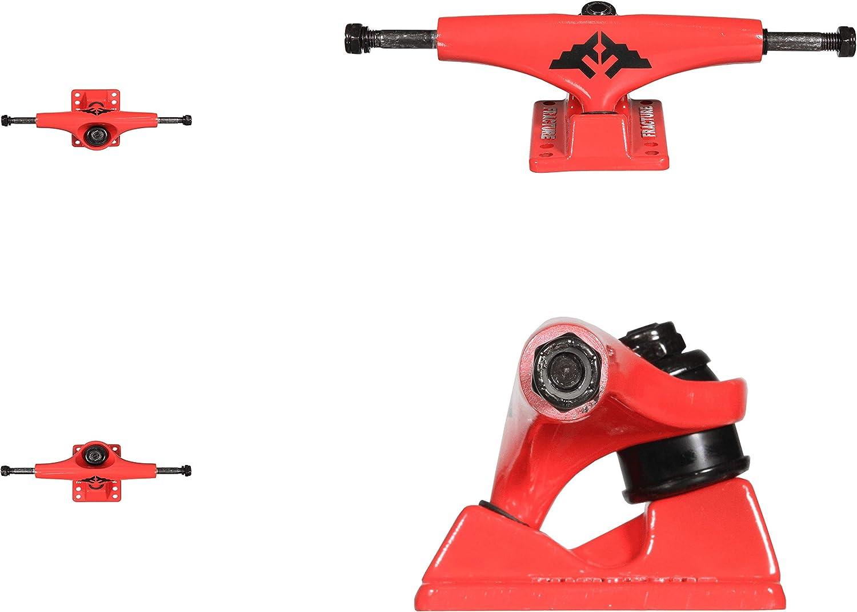 Fracture Skateboards Wings Skateboard Trucks Red 5.25