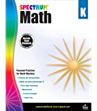 Spectrum - Math Workbook, Kindergarten - Master Counting, Writing Numbers, Basic Addition and Subtraction, Measurement…