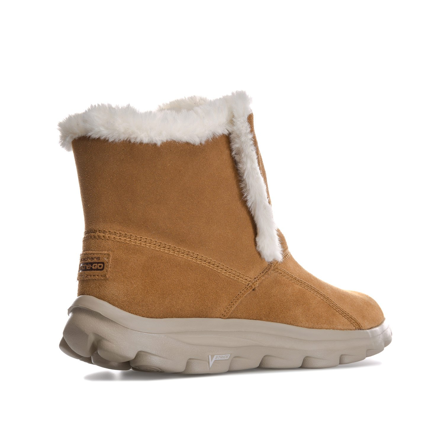 Skechers Womens Go Walk Move Dazzling Boots in Chestnut: Amazon.co.uk: Shoes  & Bags