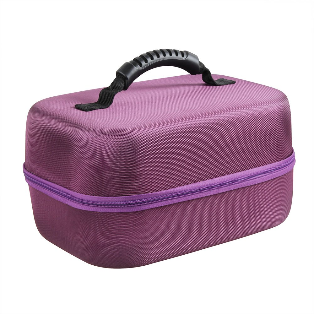 Hard EVA Travel Case for Spectra Baby USA S2 Double / Single Breast Pump 3.3 Pound by Hermitshell