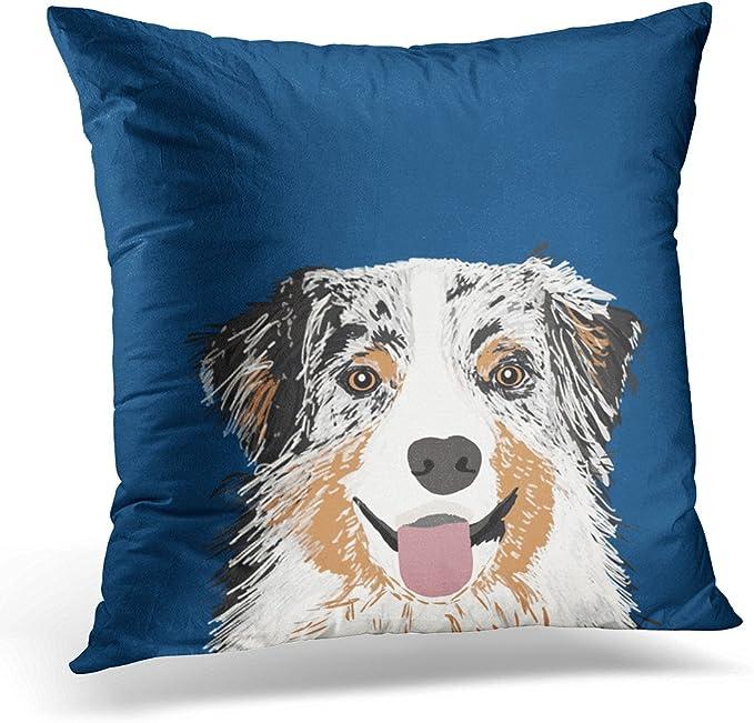 Australian Shepherd  Mom and Dad Pillow Case