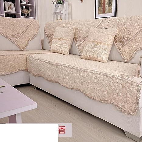 Sofá de algodón cubierta protector,Sofá de tela a prueba de ...