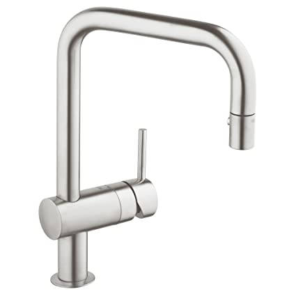 a753b3268e3b GROHE 32319DC0 Minta 1 Handle Pull-Down Kitchen Faucet