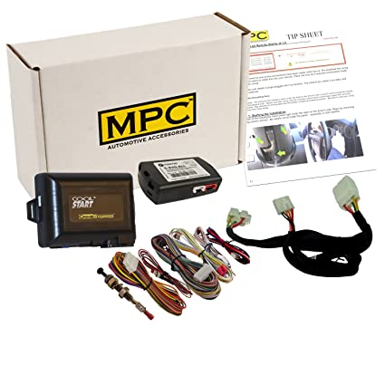 amazon com: complete remote start kit for 2010-2018 hyundai & kia key-to- start - includes t-harness - use your factory remotes: automotive
