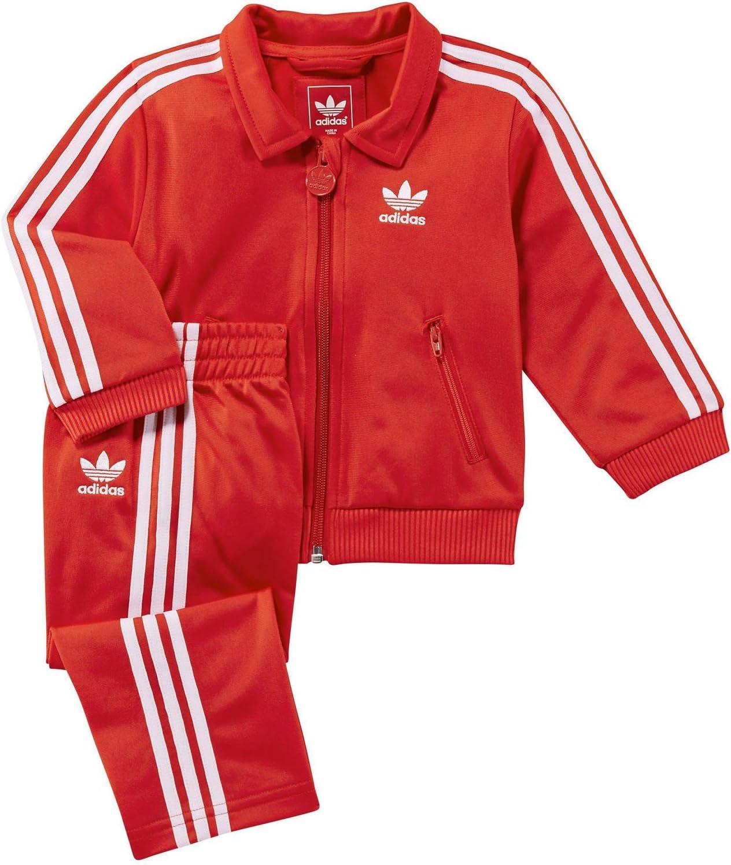 adidas I Firebird TS Chandal Tracksuit Rojo para Bebe: Amazon.es ...