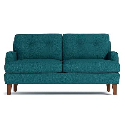 Amazon.com: Virgil Apartment Size Sofa, Chicago Blue, 68\
