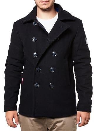 timeless design fee33 62789 Superdry Mantel Men Rookie Peacoat Navy, Größe:XXL: Amazon ...