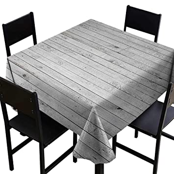 Amazon.com: SKDSArts Rectangle Table Cover ClothGrey and ...