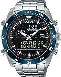 Lorus Watches - RW623AX9 - Montre Homme - Quartz - Analogique - Alarme - Chronomètre - Boussole - Lumineuses - Bracelet Acier inoxydable Argent