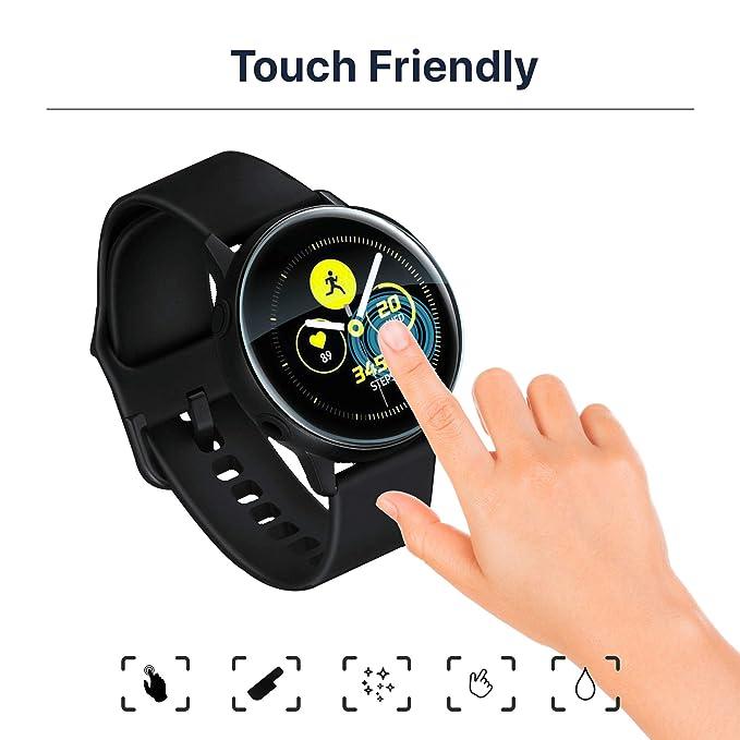 Lebama - Protector de pantalla de cristal templado para Samsung ...