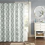 "Madison Park MPE70-083 Essentials Merritt Shower Curtain 72x72"" Grey,72x72"""