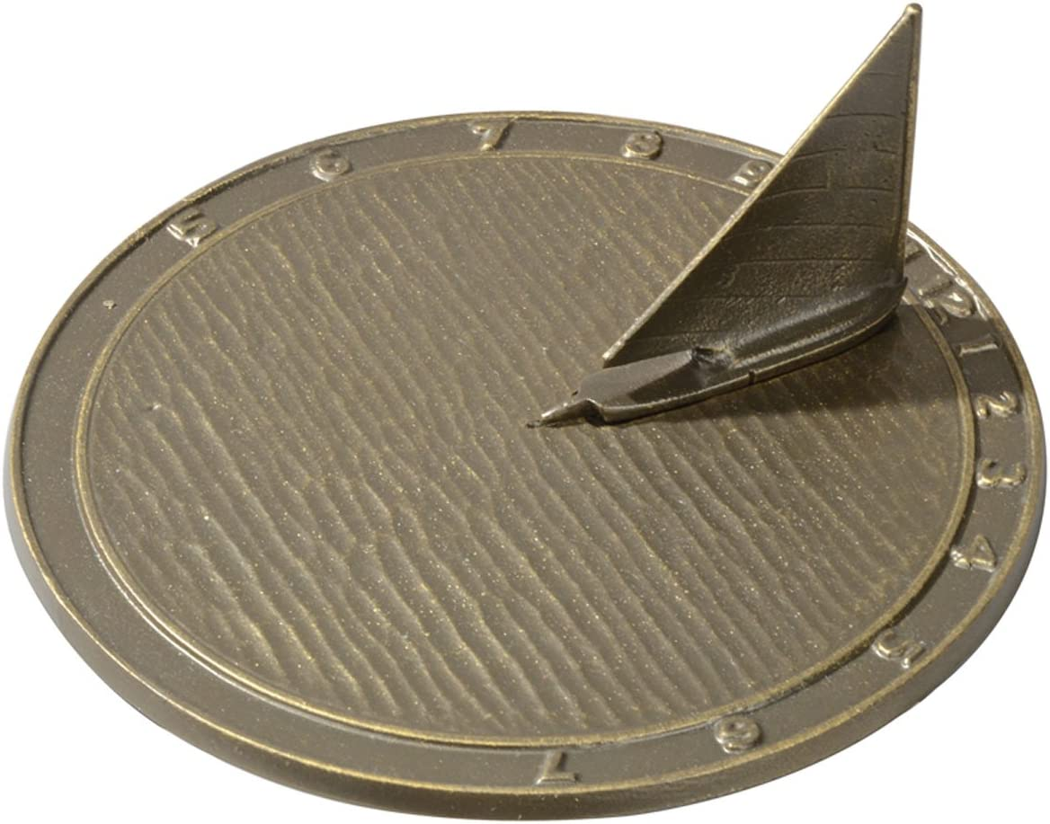 Whitehall Products Day Sailor Sundial, French Bronze