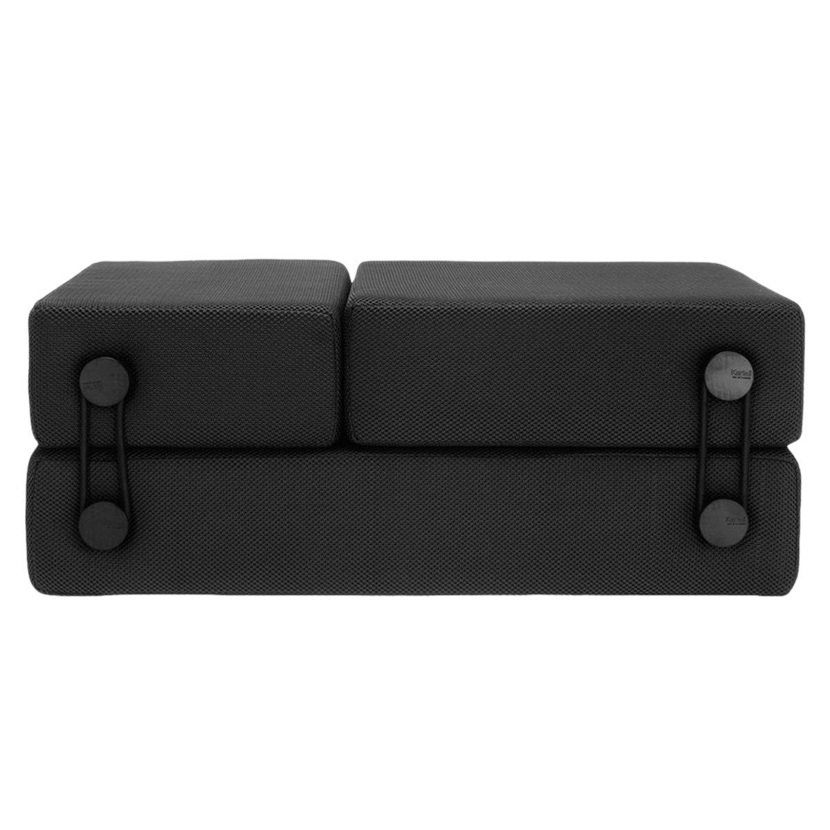 Kartell 602509 Sitzsystem Trix 100 x 36 x 75 cm Polyestergewebe, schiefergrau