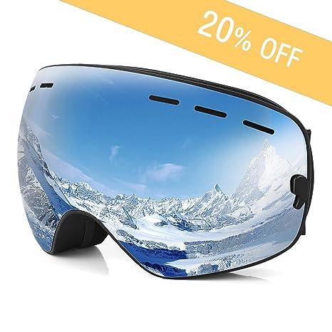 ebefe1d32d5 Amazon.com   Snowboard Goggles Clear