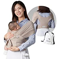Konny Baby Carrier | Ultra-Lightweight, Hassle-Free Baby Wrap Sling | Newborns, Infants to 44 lbs Toddlers | Soft and…