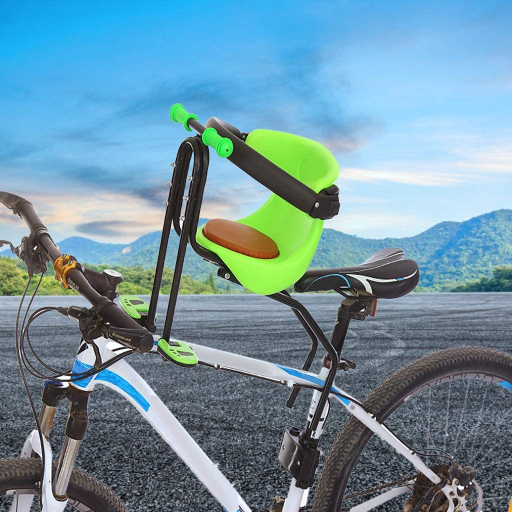 Fahrrad Vordersitz Stuhl,Fahrrad Kindersitz Vorne Fahrrad Vordersitz Kindersitz Pedal F/ür Mountainbikes Hybridbikes Und Fitnessbikes LILIHOT Fahrrad Kindersitz Kindersattel Fahrrad Vorne