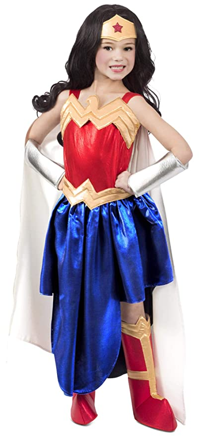 WONDER WOMAN DC Super Hero Girls Girls Costume - Small (6): Amazon ...