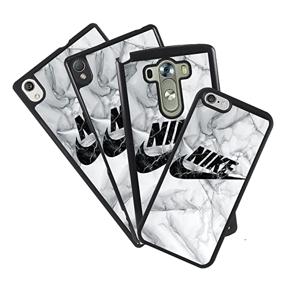 watch 21d97 17dda Amazon.com: Cover case for Mobile Logo Nike Marble Compatible with ...