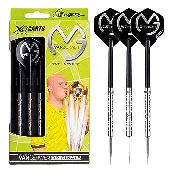 90/% Tungsten 25g XQMAX Originals Michael van Gerwen Steel Dart