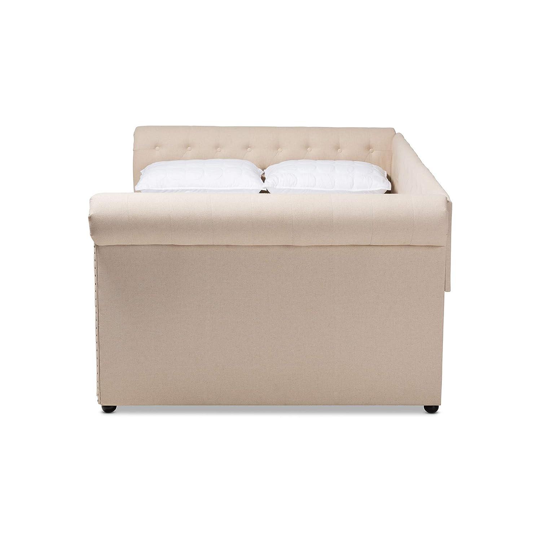 Amazon.com: Baxton Studio 154-9487-AMZ - Sofá cama tamaño ...