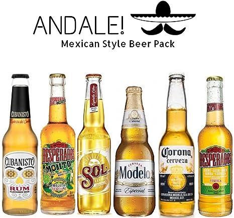 Andale! Pack de Cervezas Mexicanas - Cervezas de Mexico (Mejico ...
