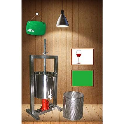 BBG Prensa para frutas - Dispositivo de presión manual - Prensa de ...