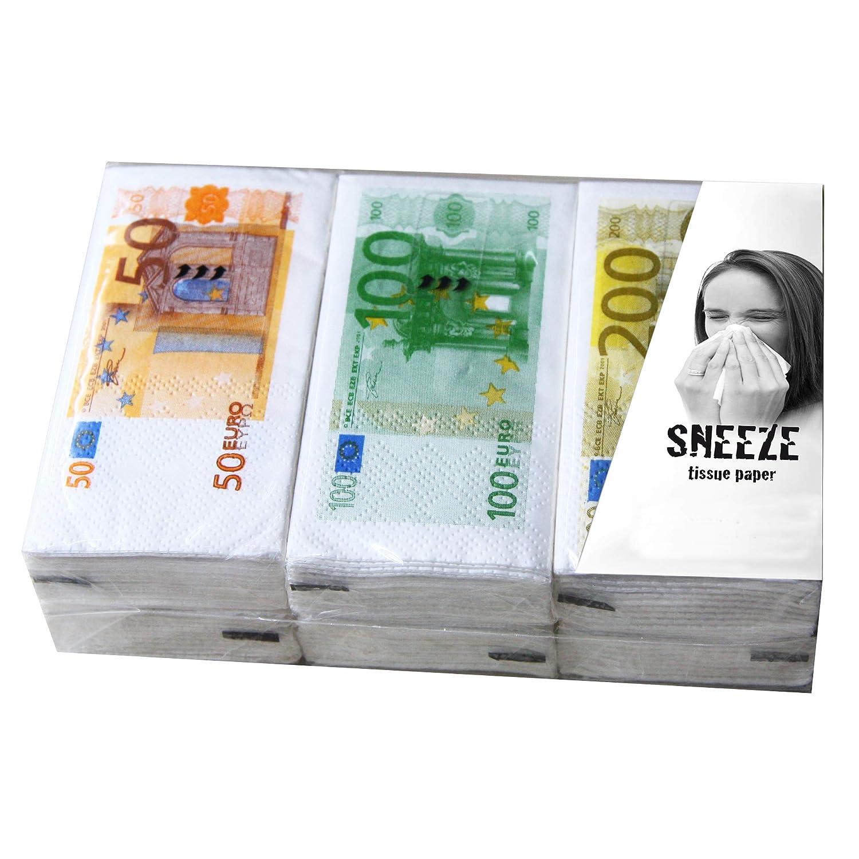 Stiel® - Fazzoletti di carta per banconote, idea regalo per donne e uomini Preis am Stiel®
