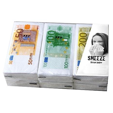 Acheter Authentic meilleurs prix professionnel de la vente à chaud Mouchoirs « billets » - Chiffon en papier - Idée cadeau pour ...