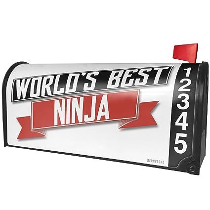 Amazon.com: NEONBLOND Worlds Best Ninja Magnetic Mailbox ...