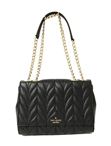 Kate Spade Briar Lane Quilted Emelyn Chain Shoulder Bag Crossbody (Black) e13dc97c8c98f