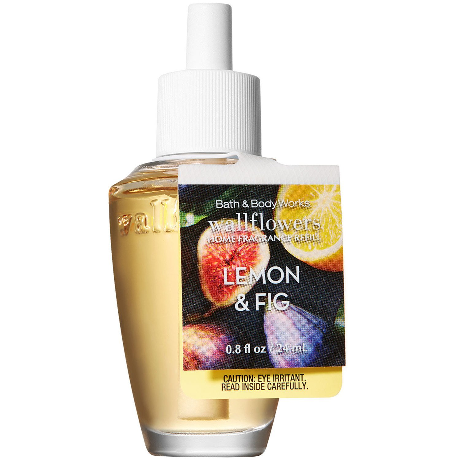 Bath and Body Works Lemon Fig Wallflowers Home Fragrance Refill 0.8 Fluid Ounce